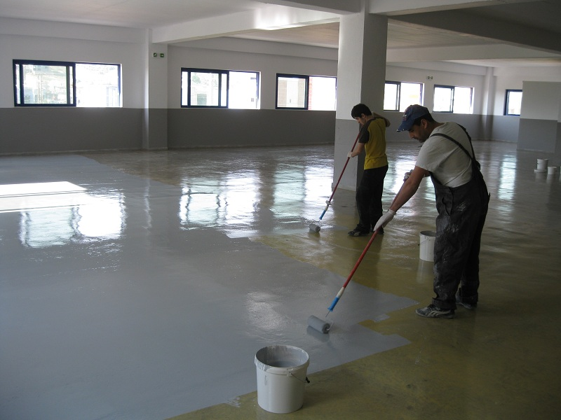 Coating Epoxy Floors Should We Go For Paint Or A Self